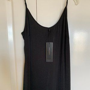 BCBGMAXAZRIA- Black Maxi Dress